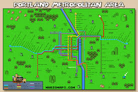 Riot Fest Chicago Map by Portland Super Mario Map Some Chicago Improvisor