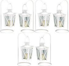 White Lantern Centerpieces by Wedding Lantern Centerpieces Ebay