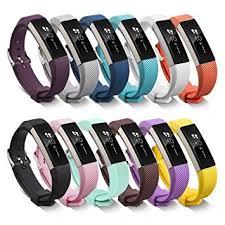 metal silicone bracelet images Benestellar fitbit alta bands with steel buckle jpg