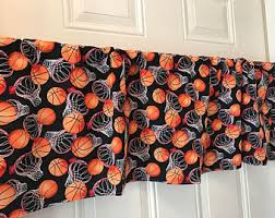 Basketball Curtains Basketball Curtains Etsy