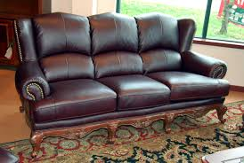 Furniture Genuine Leather Sectional With Chaise Full Grain - Full leather sofas