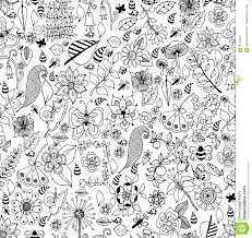 collection of seashells drawn in line art style on white