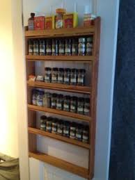 Wooden Spice Rack Wall Dave U0027s Spice Racks Handcrafted Wood Spice Racks