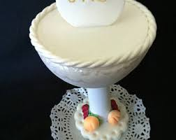 chalice cake topper etsy