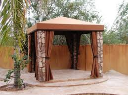 Gazebo With Awning Backyard Elegance Traditional Patio Phoenix By Phoenix