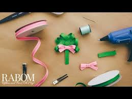shamrock ribbon shamrock ribbon sculpture tutorial