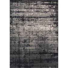Area Rugs Okc by Nourison Soho Black Grey 7 Ft 10 In X 10 Ft 6 In Area Rug