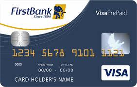 bank prepaid cards bank prepaid cards firstbank nigeria