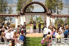wedding arch kelowna catrina cedar creek winery hotel eldorado wedding