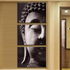high quality oil painting buddha face promotion shop for high
