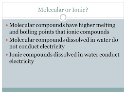 writing ionic and molecular compounds ppt video online download