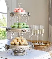 3 tier cupcake stand geneva silver beaded 22 quot high 3 tier cake stand