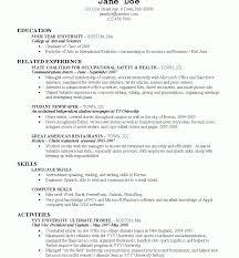 undergraduate college student resume exles recent college graduate resume sles undergraduate exles