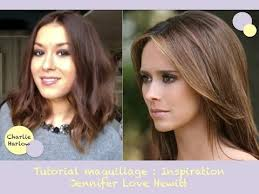 melinda gorton hair color tutorial maquillage inspiration make up jennifer love hewitt