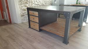meuble de cuisine style industriel enchanteur cuisine style industriel avec meuble de cuisine