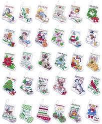 bucilla tiny ornaments counted cross stitch kit