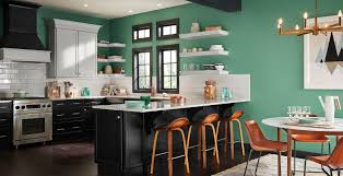 is green a kitchen color green kitchen ideas and inspirational paint colors behr