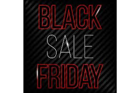 black friday banner black friday large banner psd illustrations creative market