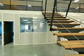 cloison aluminium bureau cloison de bureau amovible vitree semi vitree pleine sur aix en