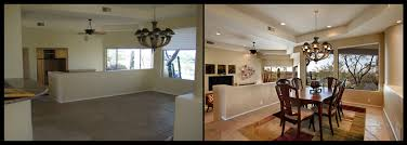 Home Decor Before And After Photos Home Staging Dining Table Before And After Idolza