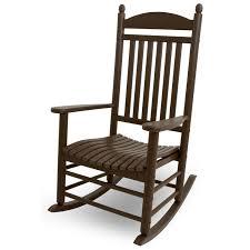 Mainstays Rocking Chair Polywood U0026reg Jefferson Recycled Plastic Rocking Chair Walmart Com