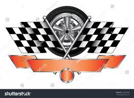 Images Of Racing Flags Racing Design Wheel Illustration Racing Design Stock Vector