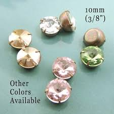 diy button earrings diy rhinestone glass button earrings vintage glass jewels