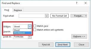 how to find an entry in multiple excel worksheets in a single
