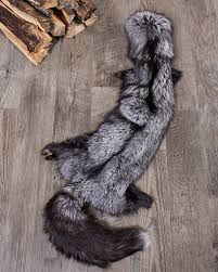 Deer Hide Tanning Companies Xl Silver Fox Fur Pelts Tanned Skins Fursource Com