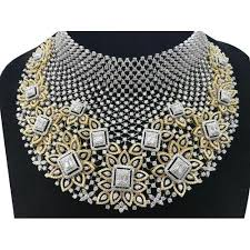 necklace chokers images Ladies diamond choker necklace at rs 1900000 set diamond jpg