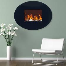 napoleon 38 in vertical wall mount electric fireplace hayneedle