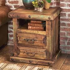furniture sets rustic nightstands white handmade rustic