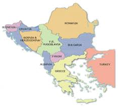 Southern Europe Map Southeastern Europe Map Image Gallery Hcpr