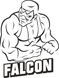 falcon coloring pages marvel characters printable coloring pages