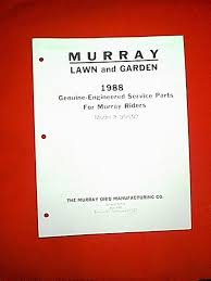 murray rear engine riding mower model 8 30502 parts manual
