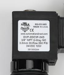 dvp 2dc3f 24d pneumatic solenoid valve 2 way 24 vdc pn dvp