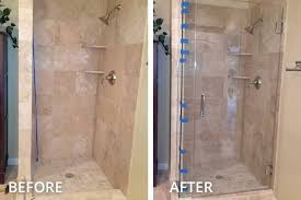 How To Install A Shower Door On A Bathtub Shower Door Glass Enclosure Installation In Pittsburgh