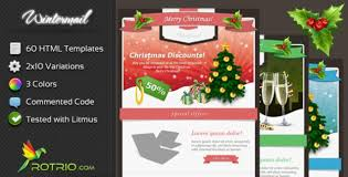 40 responsive merry christmas email template party invitation