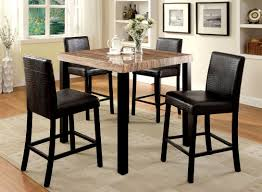 dining room pub tables baylor 5 piece counter height pub table set u0026 reviews allmodern