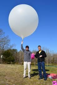 balloon a grams a hydrogen filled weather balloon flight into near space bovine