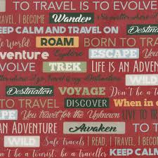 travel words images Destinations travel words red yardage deborah edwards jpg