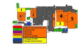 Esu Map Memorial Union Map Campus Map Emporia State University