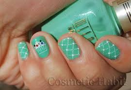 wondrously polished 31 day nail art challenge day 4 green nails
