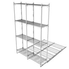 White Wire Shelving Unit by Metro Shelving 3d Model Formfonts 3d Models U0026 Textures