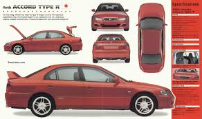 honda accord type r 1998 spec sheet honda pinterest honda