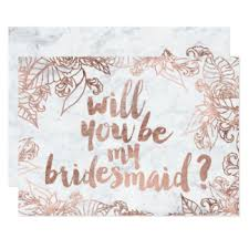 bridesmaid invitations uk marble invitations announcements zazzle co uk