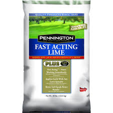 pennington 30 lb fast acting lime plus ast 100519383 the home depot
