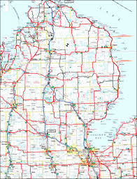 map of michigan detroit michigan map usa map of the city of detroit