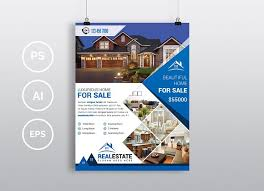 real estate flyer examples real estate flyer vol 06 flyer templates creative market