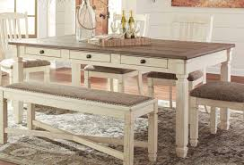 bolanburg dining table signature design furniture cart
